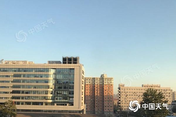 北京今日晴朗延续 明夜起冷空气带来大风降温