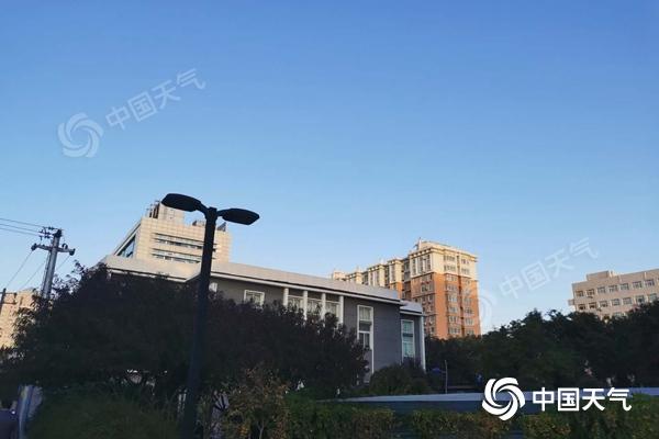 北风劲吹!今天白天北京阵风可达7至8级 风寒效应明显