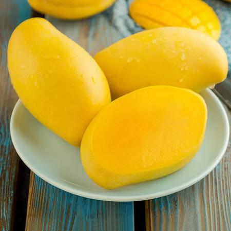 细腻多汁高乐蜜芒果,营养美味年货尽在邮乐