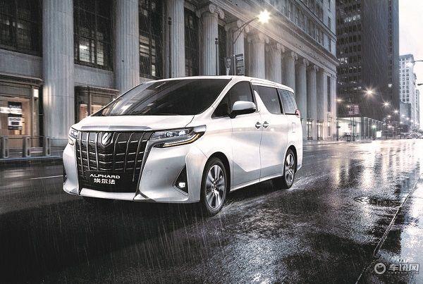 4月25日,丰田汽车于北京国际车展发布旗下mpv车型——2018新款埃尔法