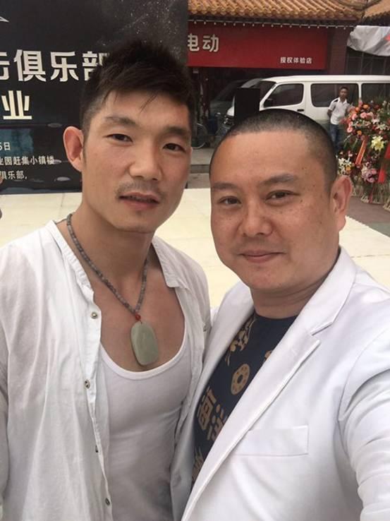 北京1个月内又有2家拳馆开业,人脉王-高海洋都到场祝贺