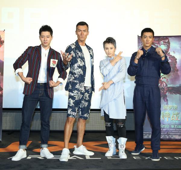 郭家豪亮相《暹罗决》首映 被剧情感染想学泰拳
