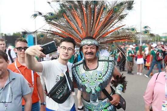 当世界杯与时尚相遇 中国品牌vivo呈现科技之美