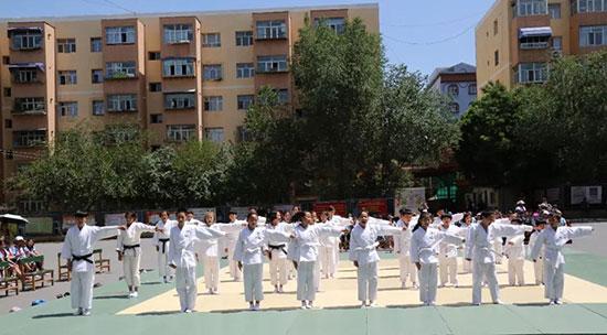 情系边疆 柔道教育中国行新疆站活动圆满结束