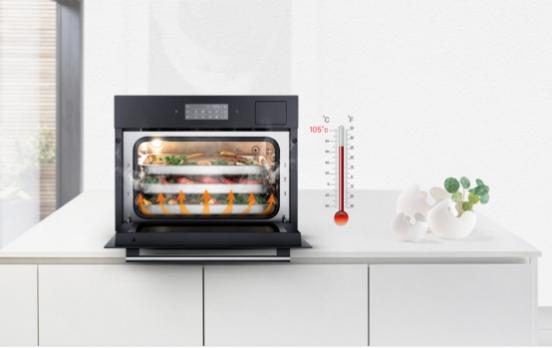 老板蒸箱好用吗?105℃三核强力蒸,锁住食材鲜美与营养