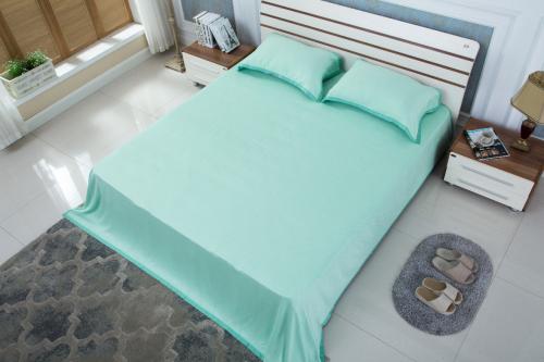 高温来袭 和也玉晶竹凉席为您开启轻柔凉爽睡眠模式