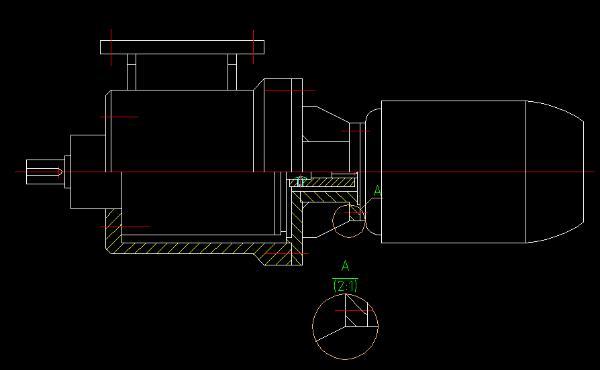 中望CAD插件版2018详图机械功提高v插件效cad局部标注植物图片