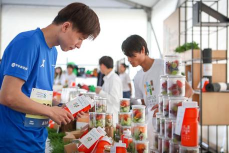 逸衡酒店首次助力上海健康跑 传递健康元气生活方式