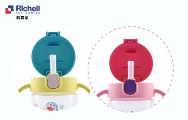 新品哆啦a梦透透杯防漏设计与防呛设计,让宝宝喝水更轻松,让妈咪不会