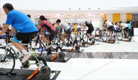 首届全国智能体育大赛暨京杭大运河智能单车挑战赛杭州开战