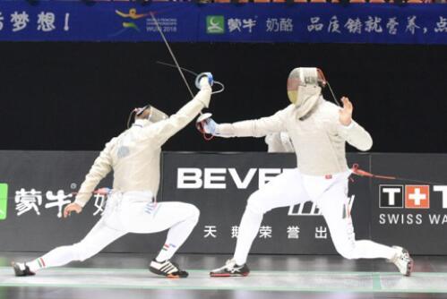 """2018击剑世锦赛锡城正式""""亮剑"""",中国队表现优异"""