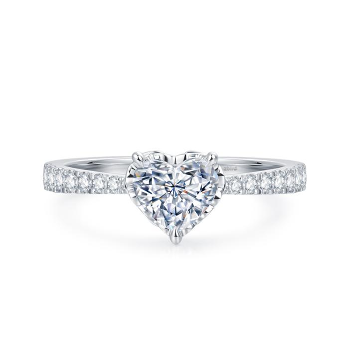 婚戒琢型考 钻石小鸟经典钻石系列解决选择障碍症