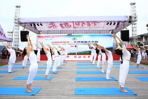 雅竺瑜伽携手2018世界瑜伽大会 开启高端瑜伽培训行业新时代