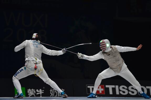 击剑世锦赛收官 中国队列奖牌榜第十一位