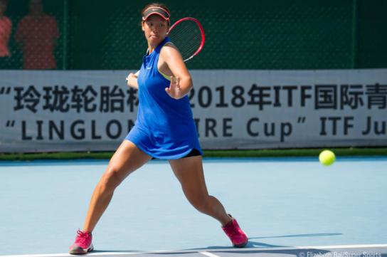 """""""玲珑轮胎杯""""2018年ITF国际青少年网球巡回赛济南站圆满结束"""