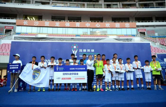 2018年第三届玛丽莱杯完美落幕,郑州金水区良驰俱乐部获得冠军