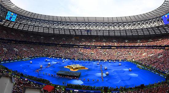 "2018 FIFA世界杯现场上演""vivo 8分钟"""
