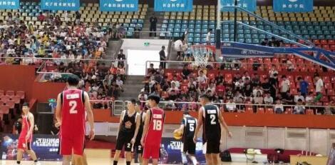 2018传奇明星赛深圳首秀 首届全国高校传奇明星篮球联赛精彩延续
