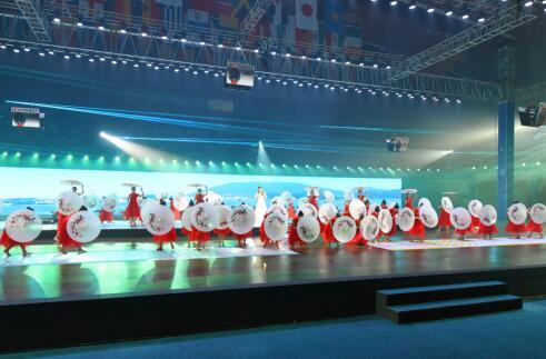 2018年世界击剑锦标赛隆重开幕 江南元素与现代击剑碰撞别样火花