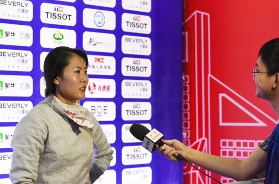 女佩、男花世锦赛冠军产生 中国两名女将闯进八强