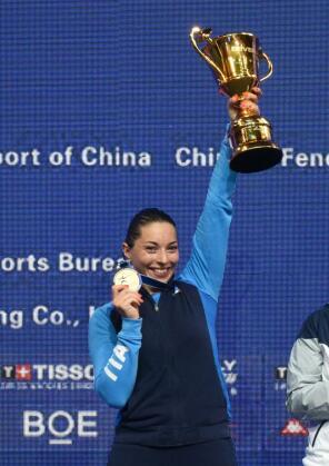 击剑世锦赛首个金牌日决出女重和男佩个人冠军
