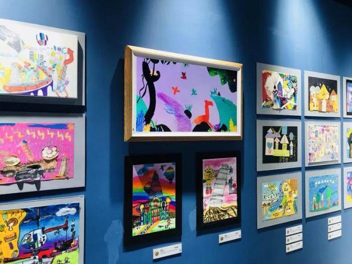 儿童画展_国际儿童画展图片