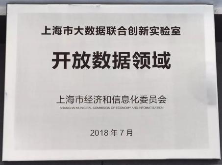 UCloud成功申报上海市大数据联合创新实验室·开放数据领域试点