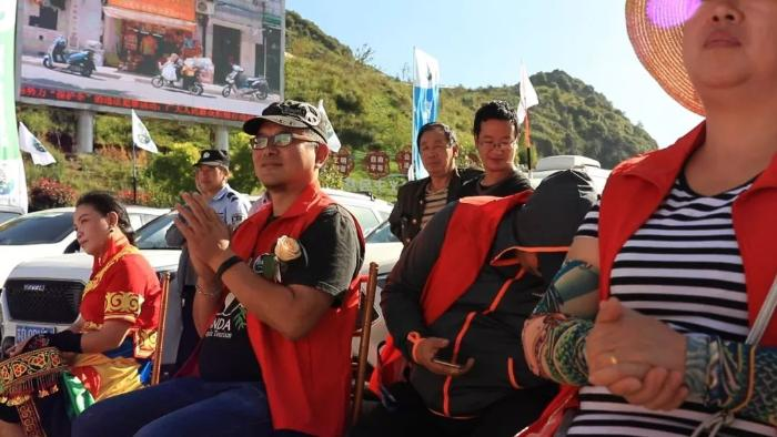 接下来,成都房车露营自驾旅游协会副秘书长阳光先生致辞,本次活动的