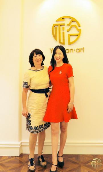 西班牙驻广州总领事馆旅游领事吉奈丽达女士一行到访裕苑艺术