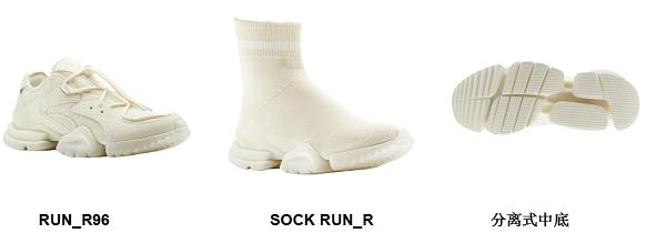 Reebok SOCK RUN_R&RUN_R96再释新色,潮跑不停!