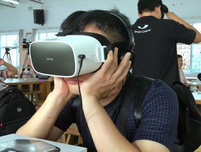 电影《李保国》走进大朋巨幕影院,VR 同步看院线电影已成现实
