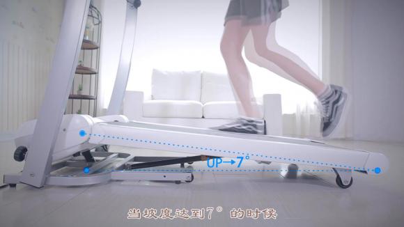 跑客up智能跑步机评测,女孩儿都爱的跑步机