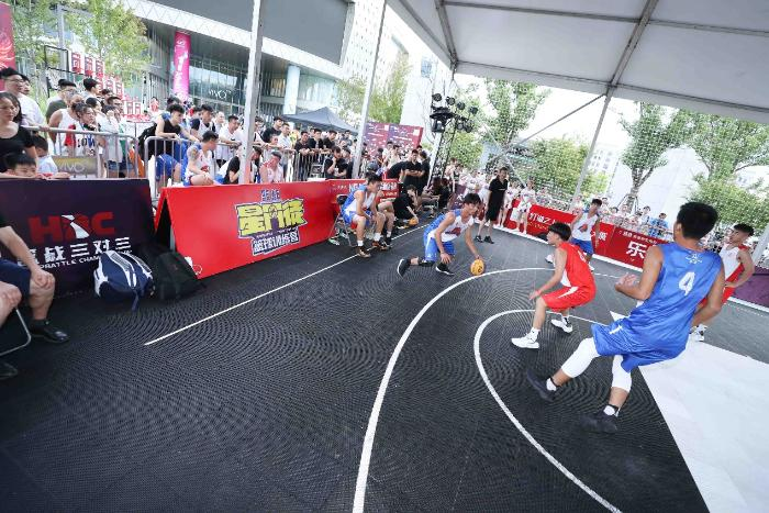 篮战三对三上海及东莞赛区完美收官 赛程过半聚集民间各路篮球高手