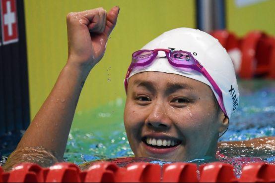 颜值实力俱佳,361°助力中国游泳女队用热爱惊艳亚洲