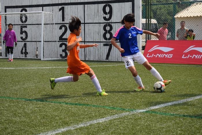 中国城市少儿足球联赛预赛结束 决赛成都北京上演