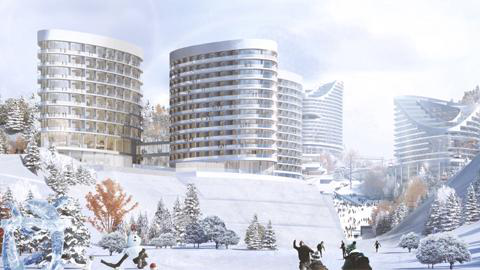 人与自然的和谐共生——赤城新雪国酒店式公寓建筑设计溯源
