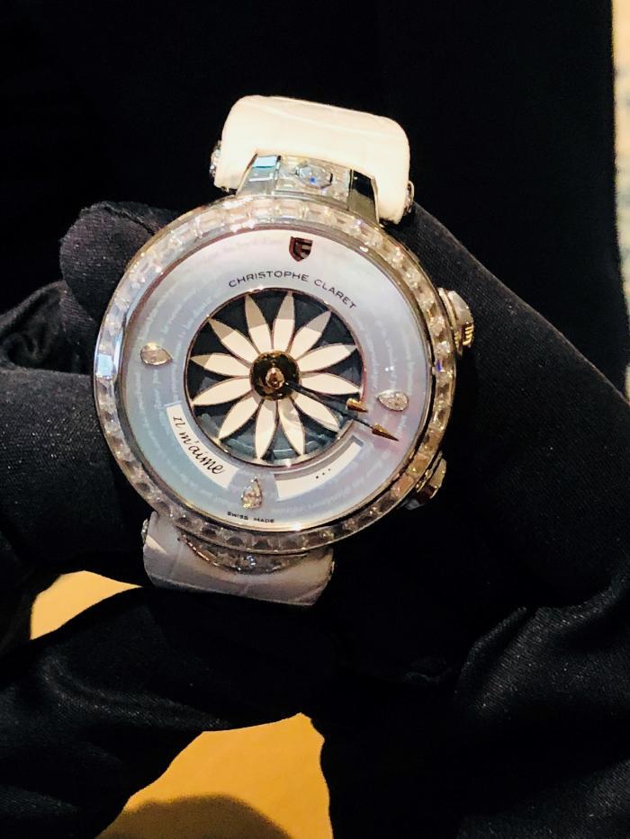 顶级制表大师CHRISTOPHE CLARET联手胖虎奢侈品发布全新腕表产品