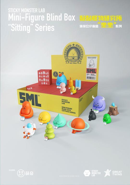 网红玩偶出道,黏黏怪物研究所(SML)首推潮玩盲盒