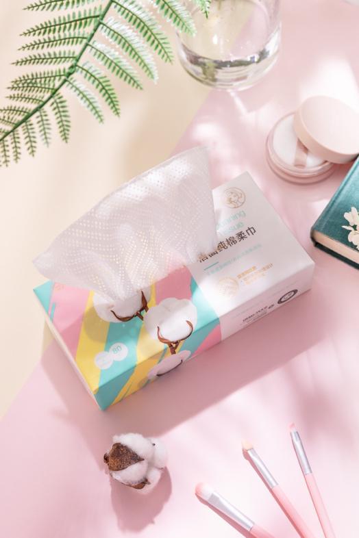 王俊凯代言全棉时代 携新品纯棉柔巾解锁洁面新方式