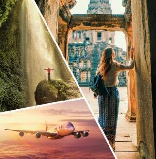 卡塔尔航空鼓励乘客开启冒险精神,与之同行探索广阔世界之旅