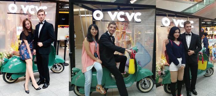 """意大利潮包品牌OVCVC举办""""罗马假日""""主题品牌互动与答谢会员活动"""