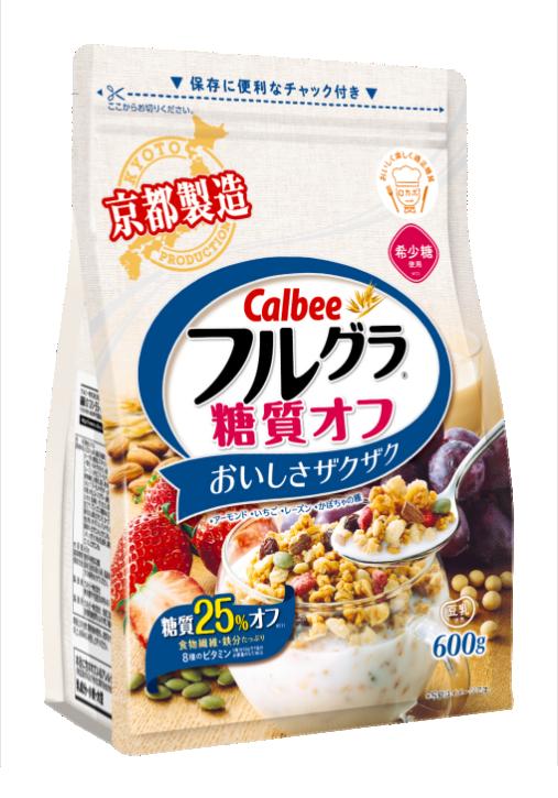 卡乐比麦片+植物性乳酸菌=清爽健康的美味麦片