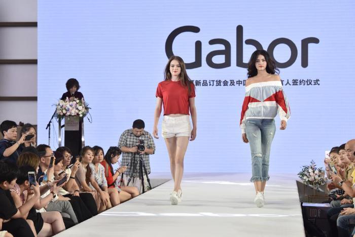 胡可成Gabor品牌代言人,携2019春夏新品解锁女性优雅