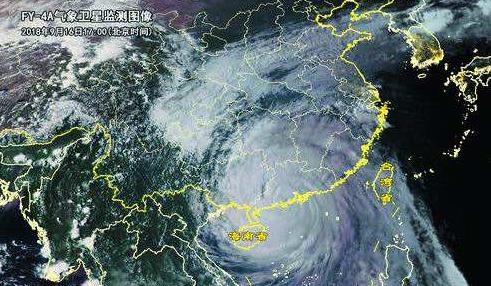 """气膜快讯:深圳博德维气膜实力抗击超强台风""""山竹"""""""