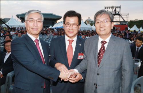 韩中亲交的现场, 第8届中国留学生庆典