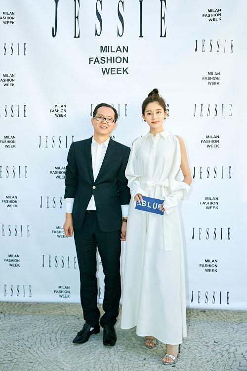 JESSIE 2019春夏系列亮相米兰时装周