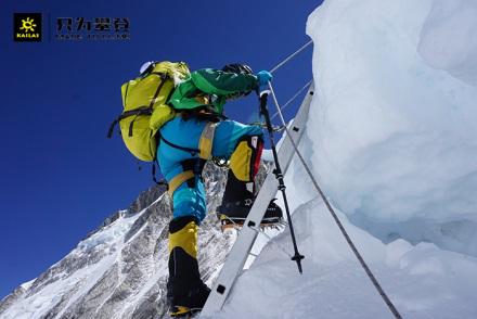 凯乐石运动员罗静:国内首位登顶14座8000+米山峰女性登山者