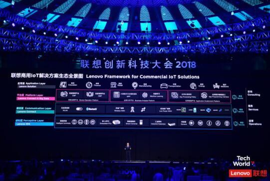 Tech World 2018:联想商用全面布局物联网,以数据驱动商业变革
