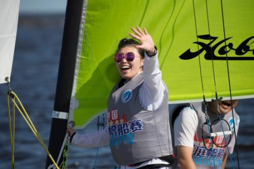 中国家庭帆船赛天津站盛大开赛