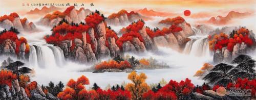风水与艺术的完美结合,广西美女画家刘燕姣作品浅析